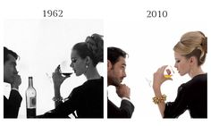 The Vogue Image That Inspired Stella Artois's 2010 Campaign. Bottoms up!