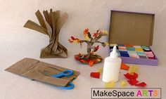 arts and crafts autumn theme | MakeSpace Arts- Free Kids Arts and Craft Projects, Recipies and ...
