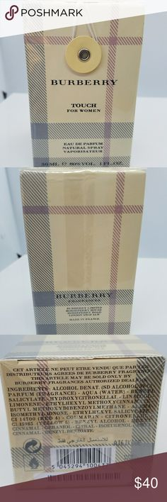 BNWT Burberry Touch Eau de Parfum Brand new unopened Burberry Touch Eau de Parfum for women. 1 fluid ounce. Burberry Other