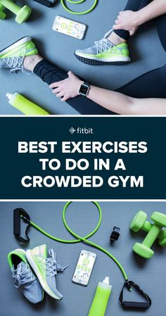 Don't let crowds kill your motivation. This gym workout will help you make the most of small spaces.