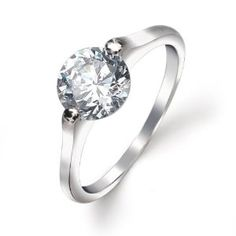2prongsolitaire ring - Google zoeken