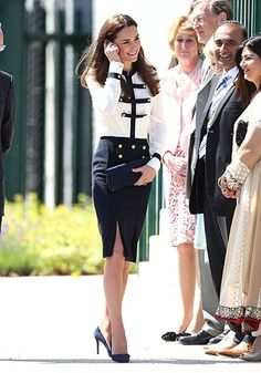 Kate Middleton Style Photos: Every Outfit The Duchess of Cambridge Has Ever Worn! : Lucky Magazine