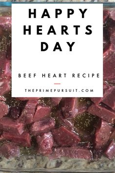 delicious beef heart recipe kids love, too. how to cook beef heart, organ meat recipe Whole 30 Recipes, Great Recipes, Beef Heart Recipe, Paleo Recipes, Real Food Recipes, Vinegar And Honey, Nourishing Traditions, Happy Hearts Day, How To Cook Beef