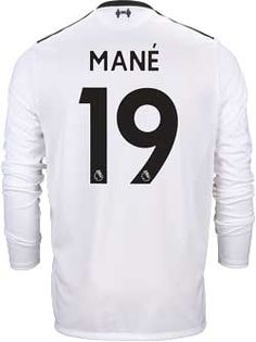 510949413b3 2017 18 NB Liverpool Sadio Mane L S Away Jersey. Buy yours from