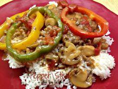 an affair from the heart: Pepper Steak