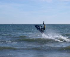 use a jet ski- August 2012 Polson Bay with Kyle! Thank you LOML! <3