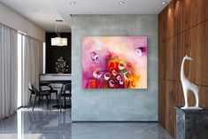 This item is unavailable Eclectic Decor, Modern Decor, Modern Design, Princess Room Decor, Modern Oil Painting, Minimal Decor, Office Wall Art, Affordable Home Decor, Tropical Decor