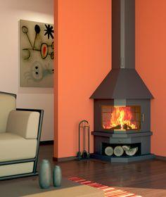 Wood Burning Stove Corner, Decoration, Barn, Home Appliances, Windows, Doors, Living Room, Design, Home Decor