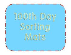 100th Day Of School Freebie Enjoy This For Your 100th Day