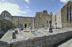 The Royal Abbey of Cong is one of the finest examples of early architecture in Ireland
