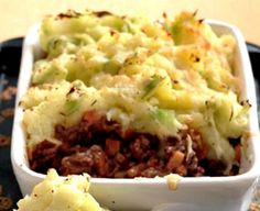 Venison Shepherds Pie - Wild Game Recipes. Pro Hunter's Journal   LEM Products   Killer Recipes for Sportsmen and Food Lovers