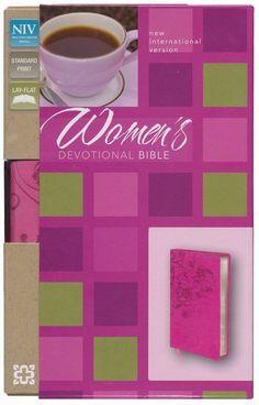 Womens Devotional Bible-Raspberry DuoTone (NIV)