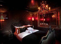 Gothic room decor #victorian black vintage #chandelier