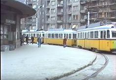 Móricz Zsigmond körtér, Budapest, Hungary 1988