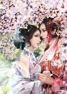 Cherry Blossom by SansaXIX.deviantart.com on @DeviantArt