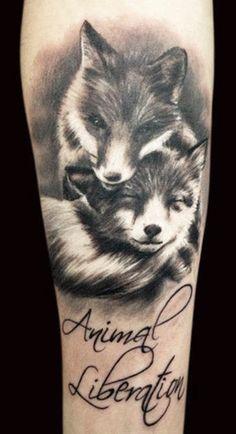 Tattoo Artist - Adam Kremer - animal tattoo