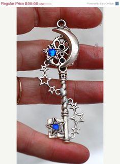 Galaxy Key Necklace