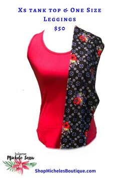 72c7f4afa234ce LuLaRoe Tank Tops are here and they are going fast!!! This red LuLaRoe