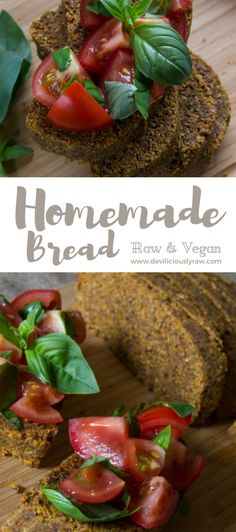 Homemade Raw Vegan Bread Homemade Raw Vegan Bread via Deviliciously Raw Related posts: Easy Vegan & Gluten-free Homemade Bread Recipe Low Carb Vegan Breakfast, Raw Breakfast, Vegan Breakfast Recipes, Raw Bread, Vegan Bread, Vegan Butter, Vegan Cru, Roh Vegan, Healthy Bread Recipes