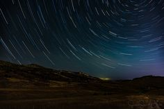 Star trails - Time stacking example