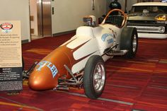 Hustler I - in my mind the first really polished dragster that set the stage for dragsters to follow