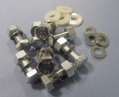 Lambretta Hardware kit - Seat - 14mm IVS Nut - Bolt and Washer Set - Scootopia