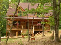 Appalachian Log & Timber Homes Standard Model Traditional Style - Stone Mountain
