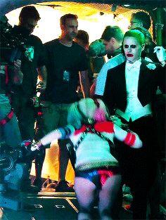 Harley and Joker Der Joker, Joker Art, Marvel Dc, Harley And Joker Love, Jared Leto Joker, Actress Margot Robbie, Margot Robbie Harley Quinn, Harely Quinn, Daddys Lil Monster