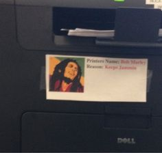 Whoever named this printer: