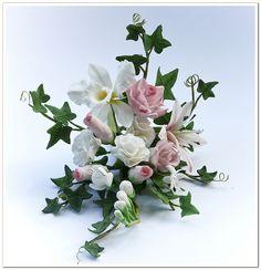 images of sugar flowers | sugar flowers spray | Flickr - Photo Sharing!