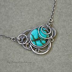 idea for a flat, round bead Untitled | Flickr - Irina