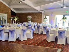 Purple incorporated Wedding day
