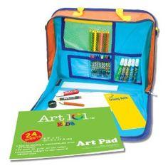 Amazon.com: Art 101 Kids Travel Art Set: Toys & Games