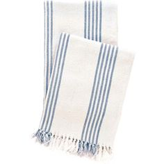 Pine Cone Hill Ibiza French Blue Throw Blanket at #LaylaGrayce $64