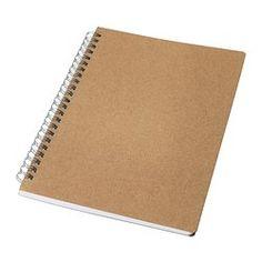 VÄLBEKANT Notebook, natural - IKEA
