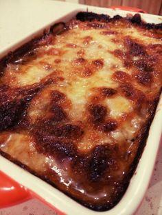 frinda patlicn musakka French Toast, Breakfast, Food, Morning Coffee, Essen, Meals, Yemek, Eten