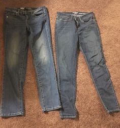 Womens Jean Lot 2pair Size 6 Mossimo and Levis Modern Skinny | eBay