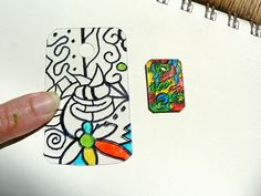 Part 1: HOW TO- Doodle Charms – Jewelry from recycled plastic