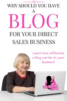 New Party Planning Business Marketing Direct Sales Ideas Direct Marketing, Business Marketing, Direct Sales Tips, Direct Selling, Arbonne Business, Business Video, Business Tips, Event Planning Business, Creating A Blog