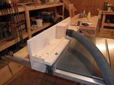 Ridgid tablesaw router fence