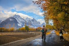 Going to School with Daddy - Jungshik Lee - 500px - Skardu, Pakistan