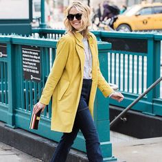Mellow yellow | there's a new post on the blog tonight. � #ootd #styleblogger #stripes... @liketoknow.it http://liketk.it/2aYp2 #liketkit