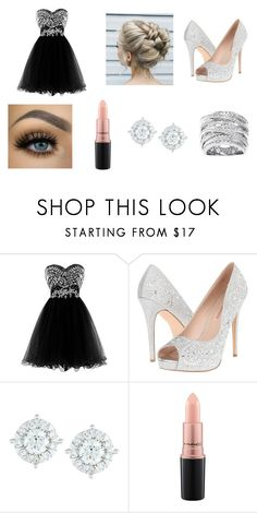"""Untitled #34"" by madalynnt on Polyvore featuring Lauren Lorraine, Mémoire, MAC Cosmetics and Beverly Hills Charm"
