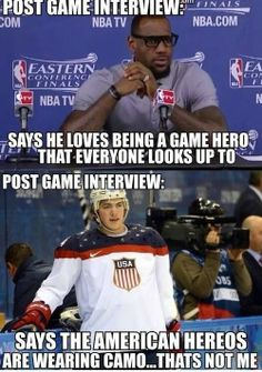 TJ Oshie gives true American heroes the #respect they deserve!
