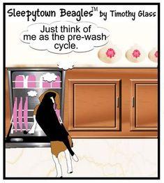 Sleepytown beagles Cartoon #beagle
