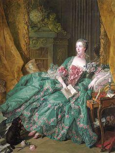 """""""Madame de Pompadour"""" by François Boucher, 1756"""