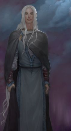 Great power Melian lent to Thingol, who was himself great among the Eldar; for he alone of all the Sindar had seen with his own eyes the Trees in the day of their flowering, and king though he was of Amanyar, he was not accounted among the Moriquendi, but with the Elves of the Light, mighty upon Middle-earth