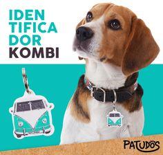 A identidade do seu pet! #patudos #cachorro #pet #dog #kombi #petshop