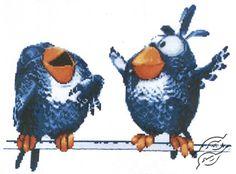 About Birdies III - Cross Stitch Kits by Alisena - 1021