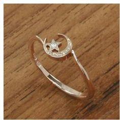 petite moon ring / ShopStyle: MU-RA プチムーンリング